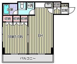グランフォーレ大井[2階]の間取り