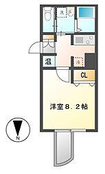 WILL鶴舞[5階]の間取り
