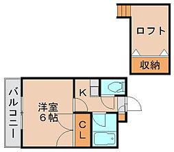 オーセンティックハウスA[2階]の間取り