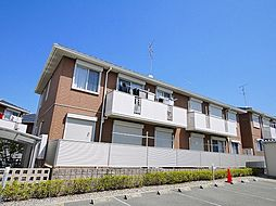 京都府木津川市梅美台2丁目の賃貸アパートの外観