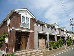 福岡県福岡市東区香椎台4丁目の賃貸アパートの外観