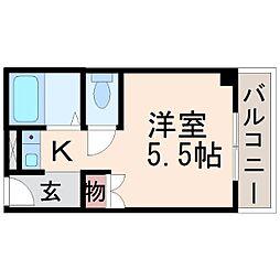 カルム甲子園[7階]の間取り
