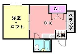 Lea・Lea平野62番館[502号室]の間取り