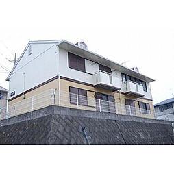 神奈川県伊勢原市下糟屋の賃貸アパートの外観