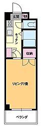 ジョイフル第1朝生田[411号室]の間取り