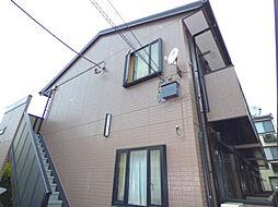 埼玉県蕨市南町4-の賃貸アパートの外観
