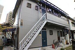 大阪府吹田市山手町3丁目の賃貸アパートの外観