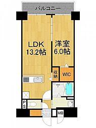 仮称 HIKAKO様マンション[6階]の間取り
