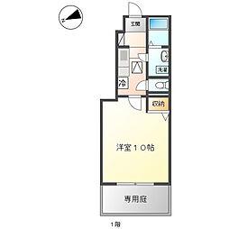神奈川県海老名市望地2丁目の賃貸アパートの間取り