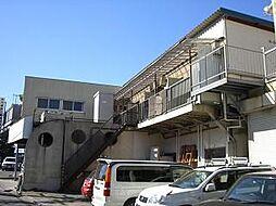 東京都府中市美好町1丁目の賃貸アパートの外観