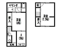 [一戸建] 京都府京都市南区久世中久世町3丁目 の賃貸【/】の間取り