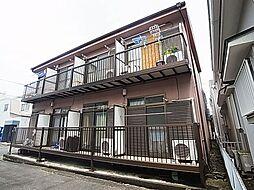 東京都足立区加平2丁目の賃貸アパートの外観