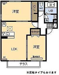 (新築)D‐room 高岡[101号室]の間取り