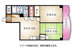 第3間ビル--[602号室]の間取り