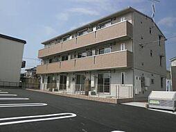 千葉県木更津市清見台2丁目の賃貸アパートの外観