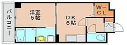 ライズライフ[4階]の間取り