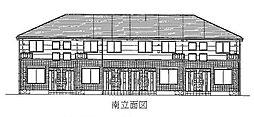 愛知県あま市下萱津長者の賃貸アパートの外観