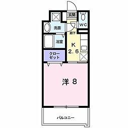 レジデンス22[4階]の間取り