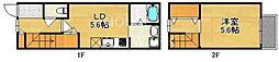 [一戸建] 京都府京都市上京区利生町 の賃貸【/】の間取り