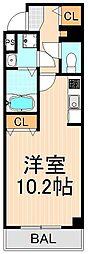 アールレジデンス東駒形H203[5階]の間取り