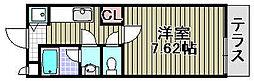 アビテ 小彩郷[108号室]の間取り