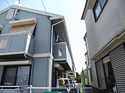 大阪府富田林市木戸山町の賃貸アパートの外観