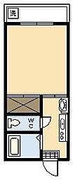 山口コーポ[B2-8号室]の間取り