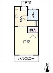 サンビオラMP[2階]の間取り