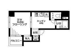 ジョワメゾン田端[5階]の間取り