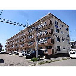 明野コーポ[1階]の外観