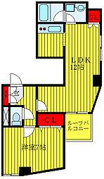 都営三田線 西巣鴨駅 徒歩7分の賃貸マンション 4階1LDKの間取り