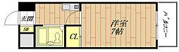 ノルデンハイム豊新[1階]の間取り