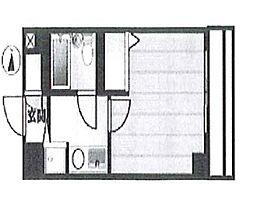 コーポ月村bt[305kk号室]の間取り