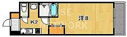 ECO・VILLAGE北山[201号室号室]の間取り