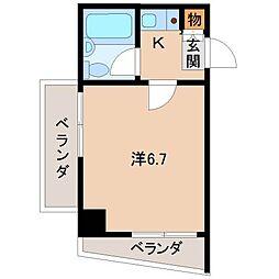 サクラビル[2階]の間取り