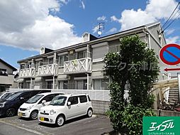 滋賀県大津市昭和町の賃貸アパートの外観