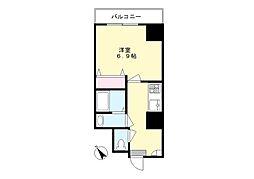 神奈川県川崎市多摩区登戸の賃貸マンションの間取り