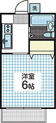 デンハウス[2階]の間取り