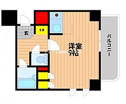 ダイアパレス京町[2階]の間取り