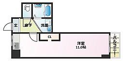 大阪府大阪市平野区平野本町3丁目の賃貸マンションの間取り