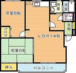 KAKUBLD(カクビル)[3階]の間取り