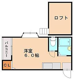 エレガンテ井尻[2階]の間取り