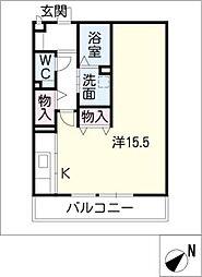 マイ・タウンハウス−A[2階]の間取り