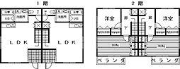 タカラホーム塩浜[1号室]の間取り