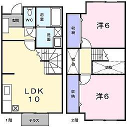 [テラスハウス] 兵庫県神戸市西区玉津町居住 の賃貸【/】の間取り