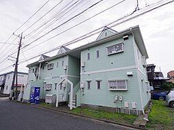 東京都東大和市清水6丁目の賃貸アパートの外観