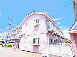 東京都東村山市本町1丁目の賃貸アパートの外観