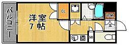 ディアマンテ薬院[5階]の間取り