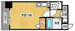 「プレサンス京都清水」[5階]の間取り