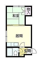 北斗ビル[2階]の間取り